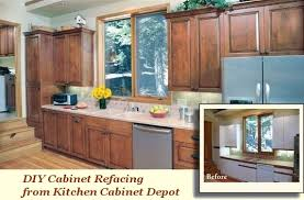 Cabinet Doors And Refacing Supplies Kitchen Cabinet Depot - Diy kitchen cabinet refinishing