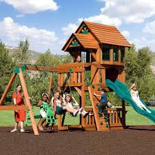 outdoor swing tags backyard playsets glider bench backyard