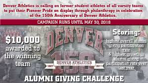 Challenge Rate Of Denver Official Athletic Site Athletics