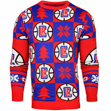 los angeles clippers ugly sweaters los angeles clippers ugly
