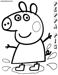 peppa pig coloring pages coloring pages download print