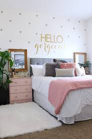Surprise Welcome Home Ideas by Surprise Teen U0027s Bedroom Makeover Teen Room Makeover Polka