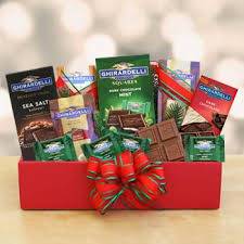 ghirardelli gift baskets christmas gift baskets ghirardelli chocolate christmas box