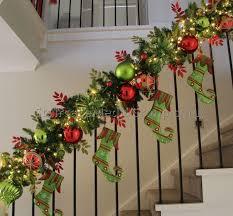Banister Christmas Ideas Christmas Staircase Garland Ideas 8 Best Staircase Ideas Design