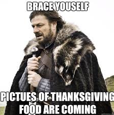 Brace Your Self Meme - brace yourself status updates about cold weather are coming