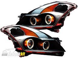 nissan altima led headlights 2007 2009 nissan altima sedan bi xenon hid retrofit quad projector
