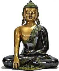 buy online collectible india sitting lakshmi ganesh idol god