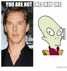 Benedict Cumberbatch Meme - 25 best memes about benedict cumberbatch alien benedict