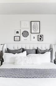bedroom gallery wall hello fashion