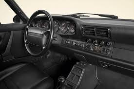vintage porsche interior porsche classic releases vintage looking navigation radio for old 911s
