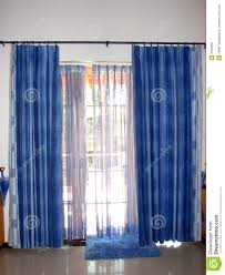 Blue Curtains Blue Curtain Call Royalty Free Stock Image Image 2533256