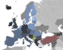 European Map Blank by A Blank Map Of Europe Alternate History Discussion