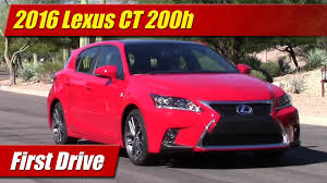 red lexus truck 2016 lexus ct 200h first drive youtube