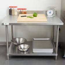 inspiring stainless steel kitchen work tables unbelievable table