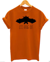 let u0027s hang out t shirt halloween fancy dress up costume hipster