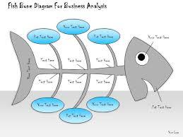 1013 business ppt diagram fish bone diagram for business analysis
