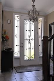Glass Inserts For Exterior Doors Decorative Front Door Glass Inserts Are Widely Used In Houses