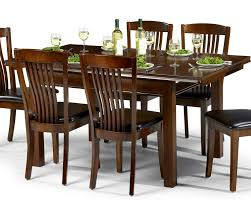 Abdabs Furniture Canterbury Mahogany Dining Table  Four Chairs - Mahogany dining room sets