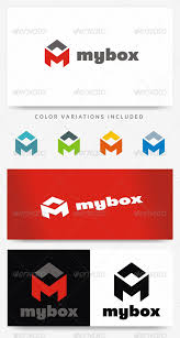 letter m logo template by lugos graphicriver