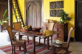 classy amazing dining rooms design and style with yellow