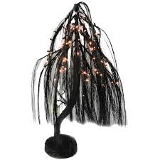 black willow tree 3 foot lighted decor