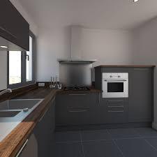 cuisine gris foncé meuble haut cuisine gris anthracite tinapafreezone com