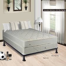 Bedroom Set With Mattress And Box Spring Mattress U0026 Box Spring Sets Amazon Com
