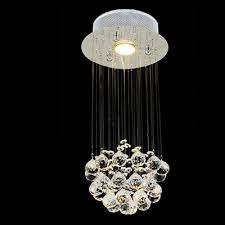 Chandelier With Crystal Balls Fashion Style Stairwell Chandeliers Crystal Lights Beautifulhalo Com