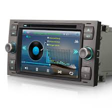 car radio dvd player gps sat nav bluetooth usb stereo for ford