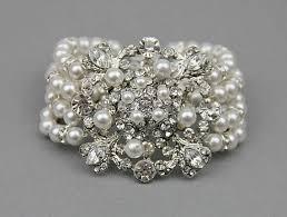wedding bracelet pearl images 57 bridal earrings and bracelet jewelry set women 039 s jpg