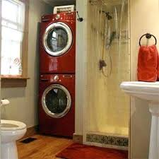laundry bathroom ideas laundry in bathroom via laundry bathroom small bitzebra club