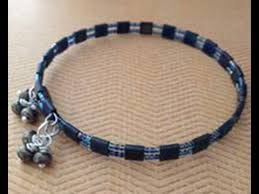 bracelet youtube images Katie hacker uses tila beads to create memory wire bracelets on jpg