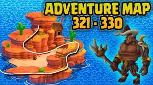 Adventure Map Monster Legends Adventure Map Level 321 To 330 Youtube