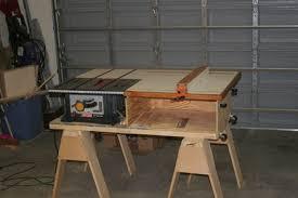 table saw station plans table saw station a la nyw by ersatztom lumberjocks com