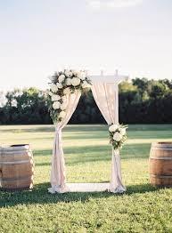 simple wedding ideas breathtaking simple wedding arch decorations 49 on table