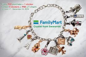 bracelet charm crystal images Purple plum fairy swarovski charm collection at familymart jpg