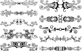ornaments vector graphics page 28