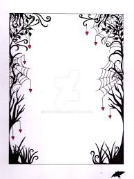 Halloween Picture Borders by Cobwebs Border By Beckyfire On Deviantart