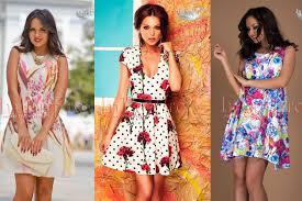 rochii de vara modele de rochii de vara scurte cu imprimeuri online fashion8 ro