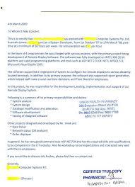 sample company letter for australian visa cover letter templates