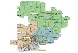 Illinois District Map by Transportation Edwardsville District 7