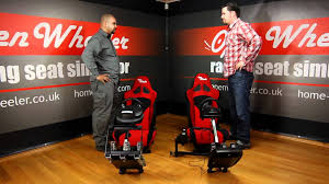 Gaming Chairs For Xbox Driving Seats The Open Wheeler Gaming Chair Youtube