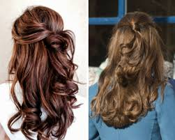 pictures on half up half down homecoming hairstyles curly