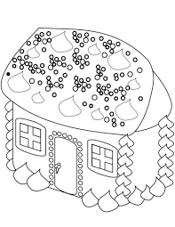 printable gingerbread house colouring page gingerbread house coloring page free printable coloring pages