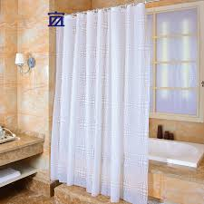 Circles Shower Curtain Contemporary Decoration Solid Color Shower Curtains Dazzling