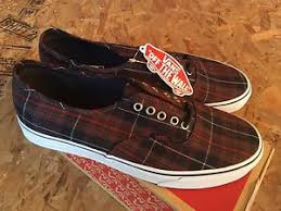 vans authentic plaid dress blues sz 10 5 nib ebay