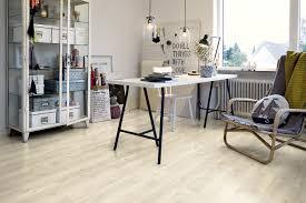 Smooth Laminate Flooring Vinyl Flooring Residential Strip Smooth Modern Grey Oak
