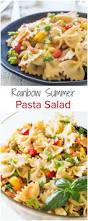 What Is Pasta Salad Rainbow Vegetable Pasta Salad Sweet U0026 Savory By Shinee