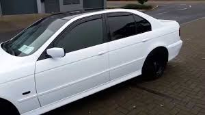 matte white bmw bmw e39 530d white youtube