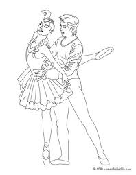 beautiful ballerina coloring pages hellokids